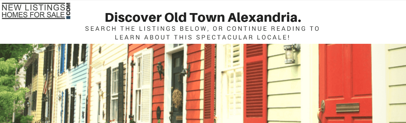 Old Town Alexandria banner